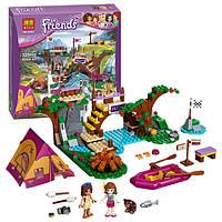 """Конструктор Bela Friends 10493 """"Спортивный лагерь: сплав по реке"""" (аналог LEGO Friends 41121), 325 дет"""