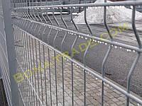Оцинкованные заборные секции