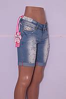 Модные шорты джинсовые женские Faxun Hong (25 - 30 размер)