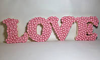 "Объёмные буквы ручной работы ""LOVE"""