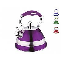 Чайник со свистком PETERHOF PH-15580 2,7 л.