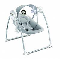 Детское кресло качалка  Babyhit Deep Sleep музыка таймер серое