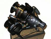 Катушка рыболовная карповая Hiboy J3FR-60 С БАЙТРАНЕРОМ 9+1 подшипников