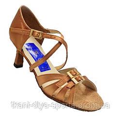 Туфли женские Латина (бежевый сатин)