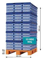 Система для хранения и перевозки яиц, на 10800 яиц, EGGS CARGO