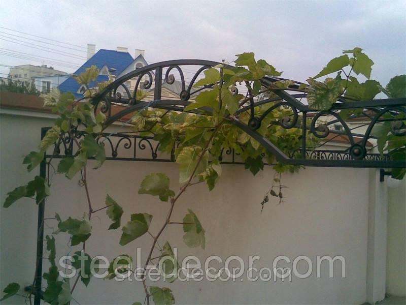 Декоративная арка под виноград - Steel-decor в Мариуполе