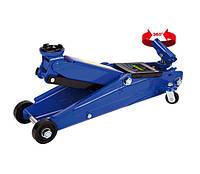 Домкрат гидравлический подкатной 3т Vitol T 83003C /360-410мм /картон / поворотная ручка/ 19 кг