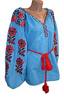 """Жіноча вишита блузка """"Мейбель"""" (Женская вышитая блузка """"Мейбель"""") BR-0001"""