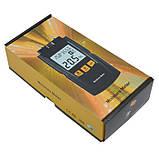 Вологомір деревини Benetech GM610 ( 5 до 70%) 2 голки з вибором типу деревини (4 режиму для 28 порід), АТС, фото 3