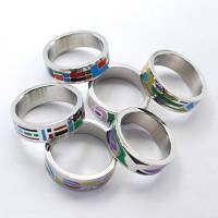 Кольцо женское, ємаль.