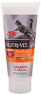 Nutri-Vet Hairball flavor Гель для выведения шерсти лосось, 89 гр