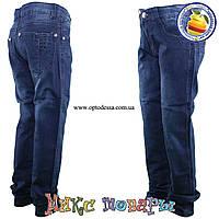 Синие джинсы для мальчиков от 8 до 12 лет (5022)