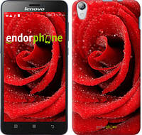 "Чехол на Lenovo P780 Красная роза ""529u-305"""