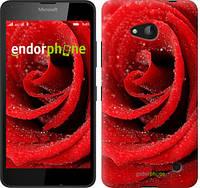 """Чехол на Microsoft Lumia 640 Красная роза """"529c-273"""""""