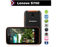 "Защищенный смартфон Lenovo S750 Android 4.2 Gorilla Glass 2 4.5"" (Black), фото 1"