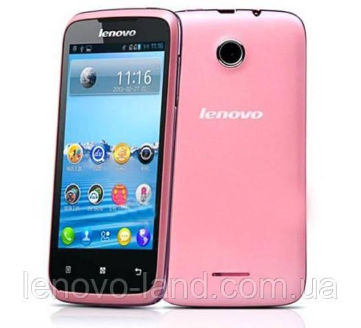 "Смартфон Lenovo A376 4.0"" GPS, 512MB/4GB"