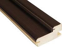Дверная коробка деревянная 100 мм. (ПВХ)