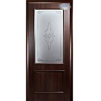Дверное полотно Новый Стиль Вилла De Luxe (Каштан)