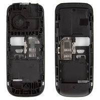 Средняя часть корпуса для мобильного телефона Nokia 101, черная, пустая