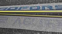 Профиль примыкания оконный с армирующей сеткой цвет серый графит длина 2.5 м.п.