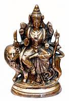 Дурга на льве статуя