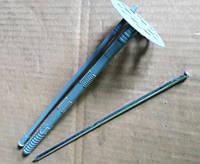 Дюбель для минеральной ваты и пенопласта с металлическим стержнем 10х200 мм.