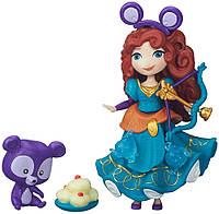 Hasbro DPR  Игровой набор маленькая кукла Принцесса Мерида и ее друг ( В5331/В5332)