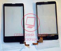 Nokia X RM-980 сенсорний екран, тачскрін чорний