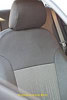 Чехлы салона Dacia Logan MCV 5 мест с 2006 г цельная темн серый EMC 163В218- евро