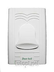 Дверной звонок колоколчик YJ-21 белый