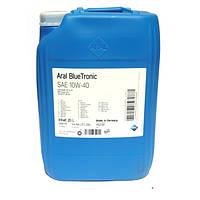 Купить моторное масло Aral Blue Tronic 10W-40 20л