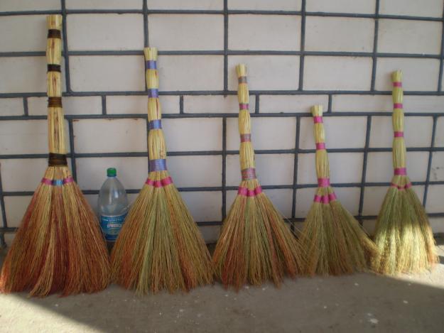 Жители Закарпатья зарабатывают на вениках из сорго