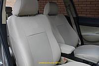 Чехлы салона Audi А-6 (C5) цельный c 1997-2004 г, /Светло Серый