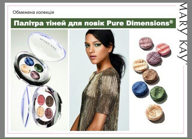 Тени для век Pure Dimensions, запеченные тени