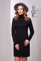 Стильное трикотажное женское платье Жюли-1