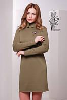 Стильное трикотажное женское платье Жюли-2