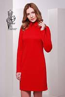 Стильное трикотажное женское платье Жюли-4