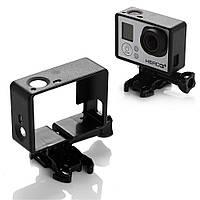 Рамка для экшн камер GoPro Hero 3 / 3+ с переходником на стандартные крепления (код № XTGP71)