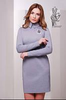 Стильное трикотажное женское платье Жюли-5