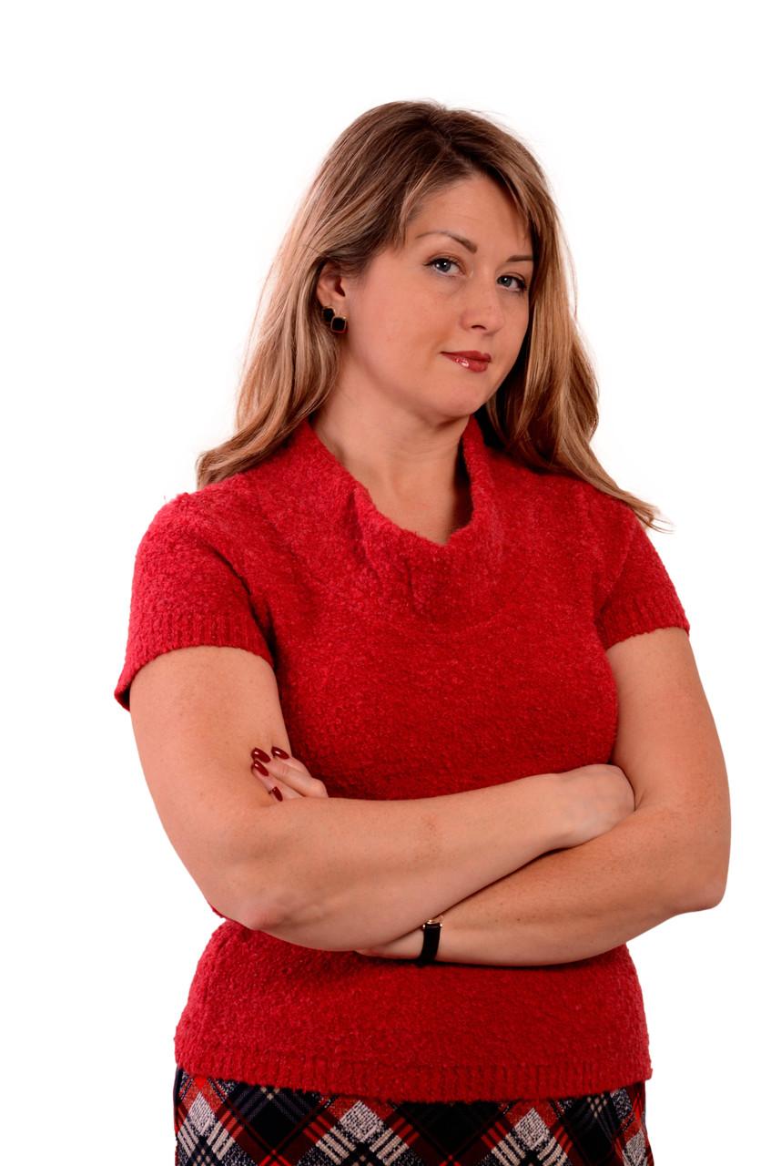 Джемпер малина мохеровый букле жилет женский вязаный ДЖ 482053