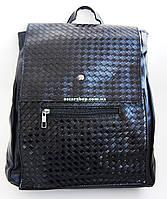 Кожаный женский рюкзак. Женская сумка-портфель. РС5