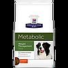 Hills  Prescription Diet Canine Metabolic 1,5кг -корм для собак  снижения веса (2097)