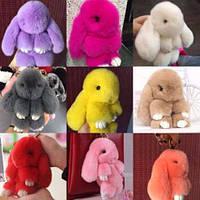 Меховой кролик / меховой заяц / много цветов