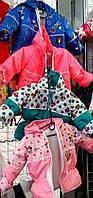 Детские демисезонные куртки Микки Маус от полугода до 2,5 лет S458