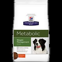 Hills  Prescription Diet Canine Metabolic 12кг -корм для собак  снижения веса (2099)
