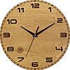 Настенные часы в стиле прованс 330Х330Х30мм [Натуральное дерево, Открытые]
