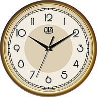 Офисные настенные часы 300Х300Х45мм [Пластик, Под стеклом] UTA-01-G-01