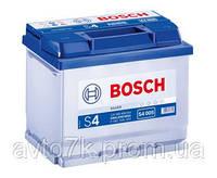 Аккумулятор Ваз 2108 2109 21099 21082 2115 BOSCH S4 (Бош) 60 Ач