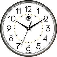 Настенные офисные часы 300Х300Х45мм [Пластик, Под стеклом] UTA-01-S-03 белые