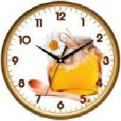 Настенные часы в кухню 300Х300Х45мм [Пластик, Под стеклом] - Интернет-магазин BEST.co.ua в Харькове